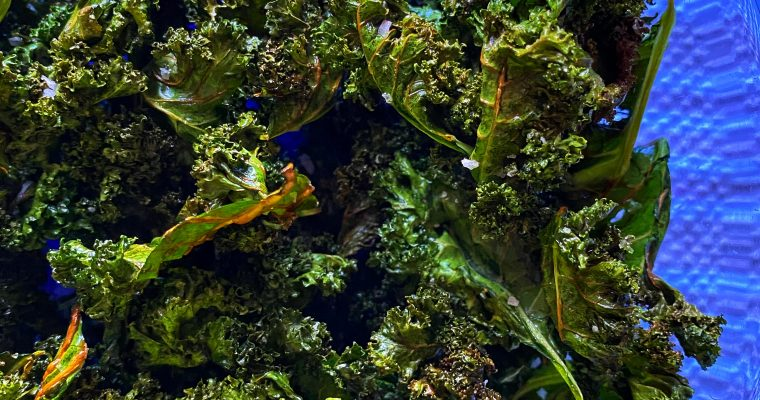 Quick and Easy Kale Chips